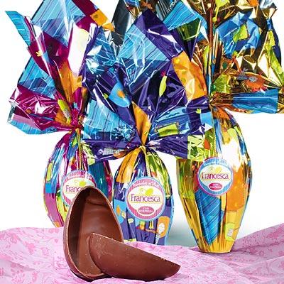 Riesen Schokoladenei für Ostern