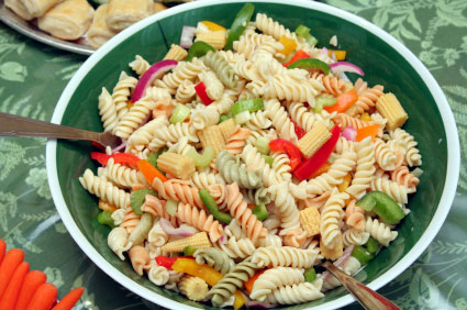 Sommerlicher Nudelsalat – Rezept aus Italien