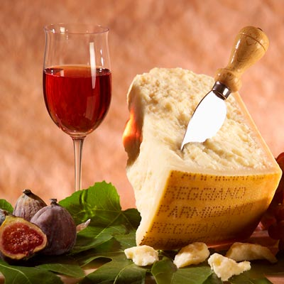 Köstlicher Parmigiano Reggiano