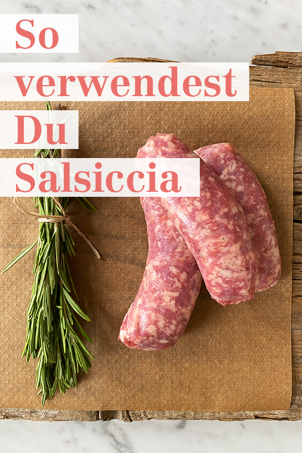 Salsiccia verwenden