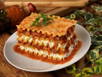 Lasagne selber machen