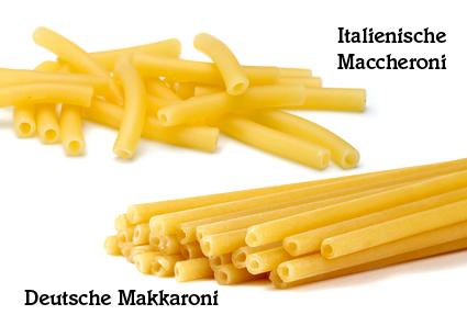 Maccheroni – Makkaroni