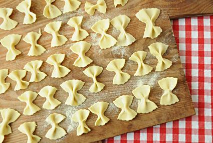 Pastaschule 7: Farfalle selber machen