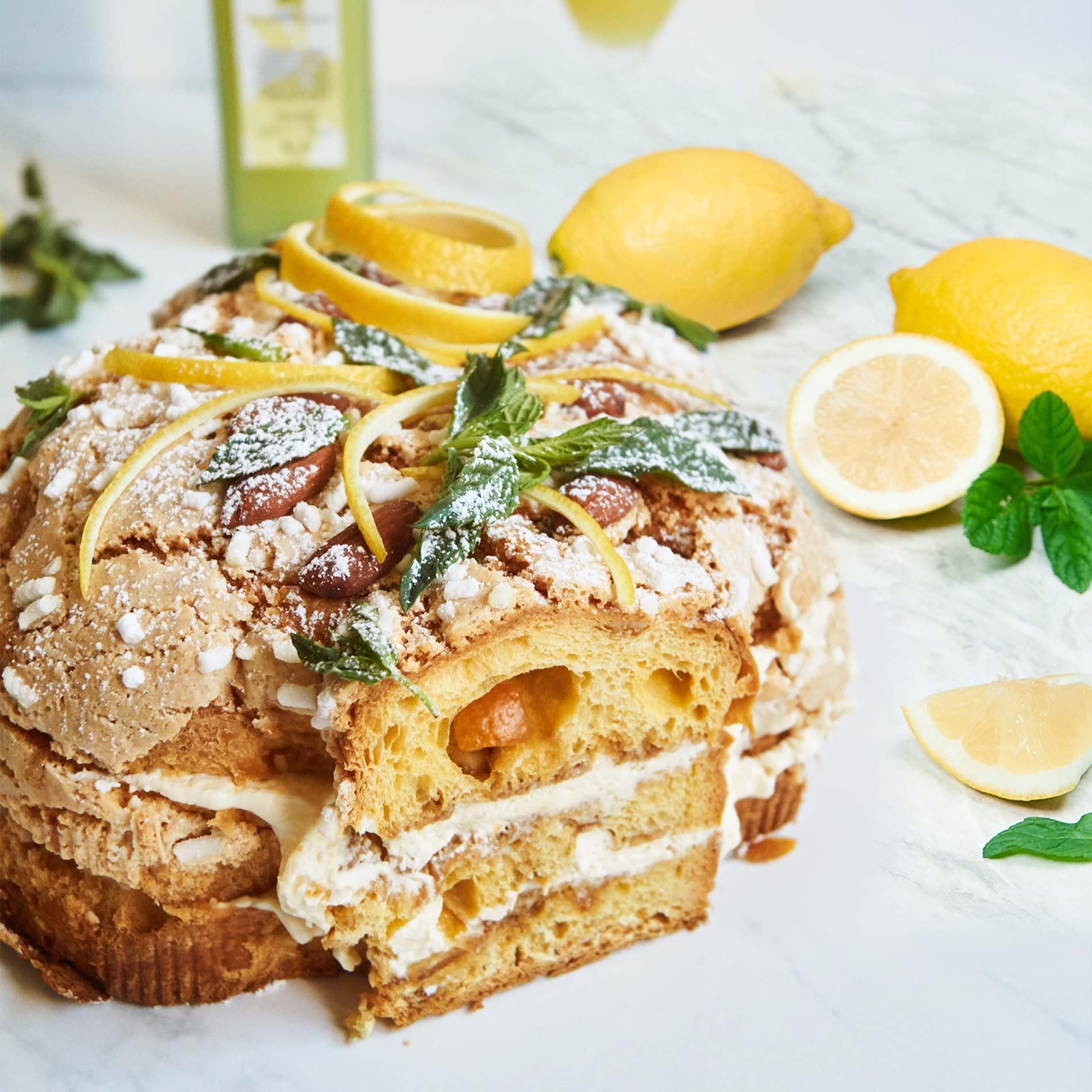 Zitronen-Tiramisu – Rezept mit Oster-Colomba