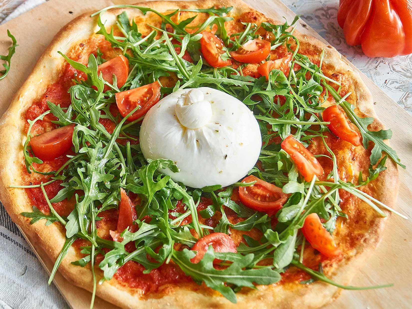 Burrata Pizza – alla Margherita
