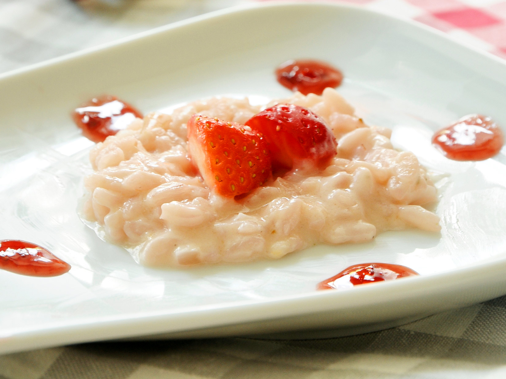 Erdbeer-Risotto – italienisches Rezept