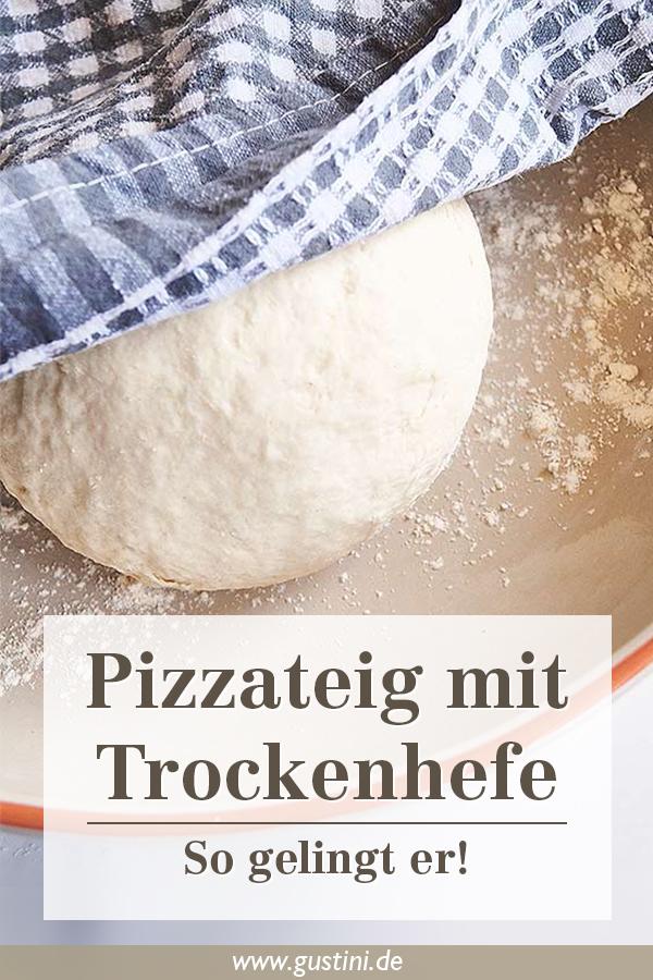 Pizzateig mit Trockenhefe