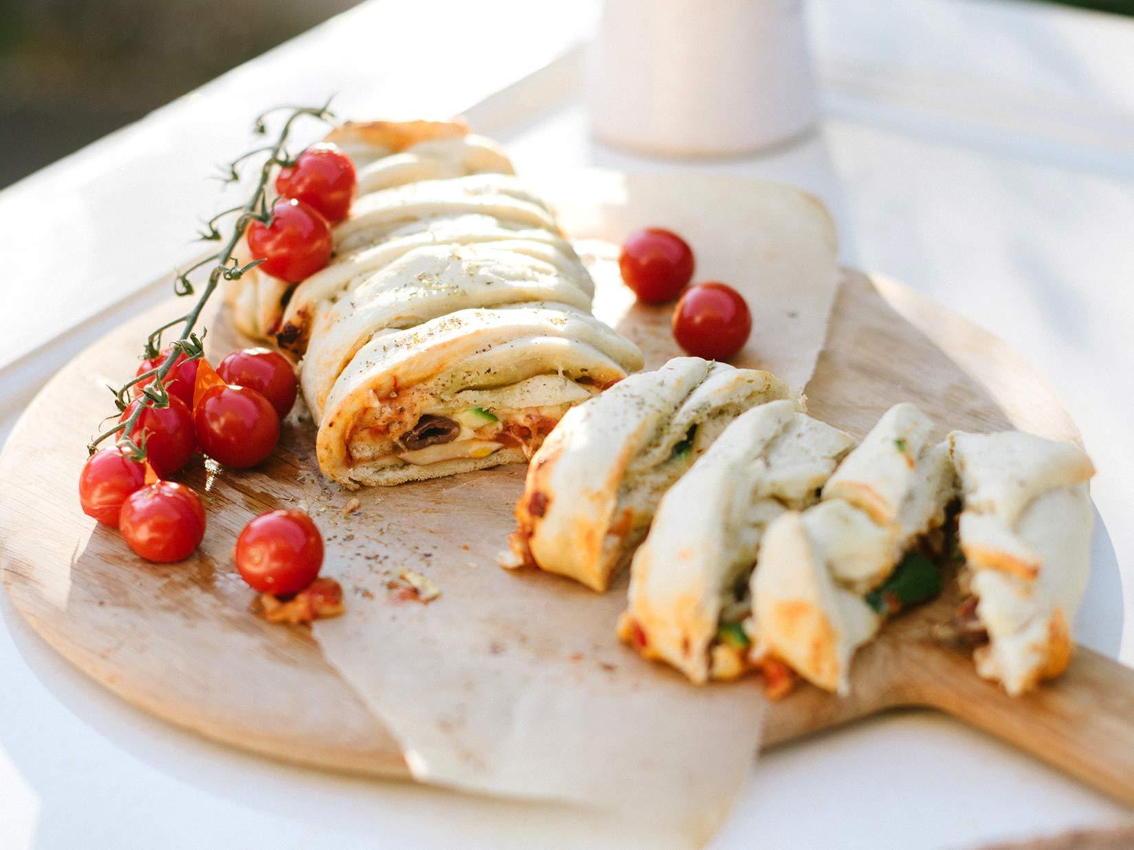 Stromboli Rezept – Pizza mal anders