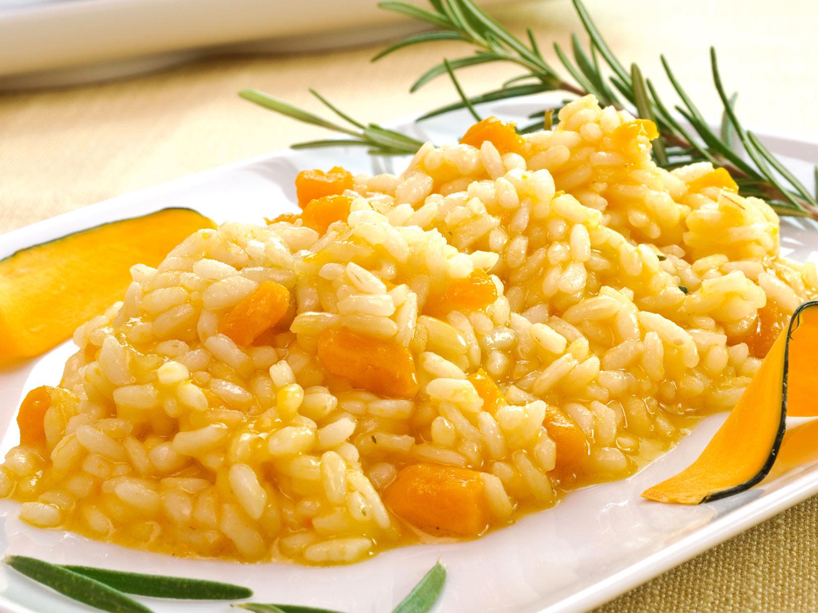 Kürbisrisotto – Rezept aus Italien
