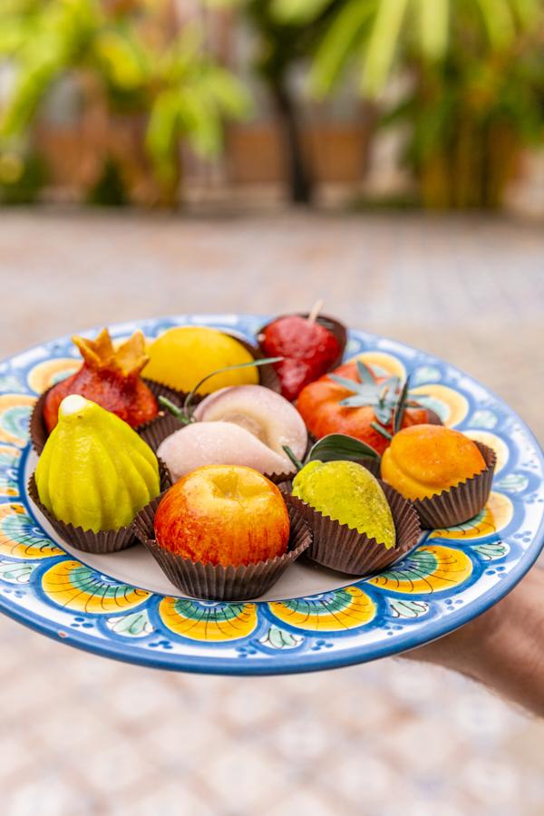 Marzipanfrüchte (Frutta Martorana)