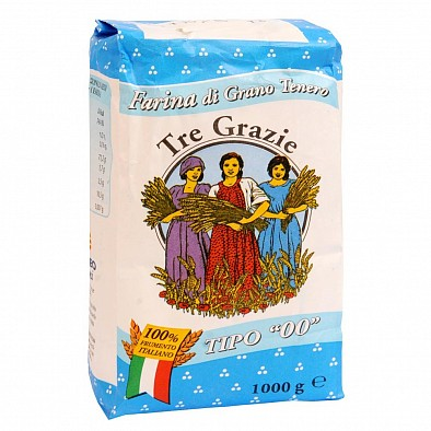 Farina 00 Grano Tenero 100% Italia