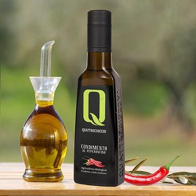 Chiliöl - Olivenöl mit Peperoncino - Bio