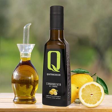 Olivenöl mit Zitrone - Bioqualität