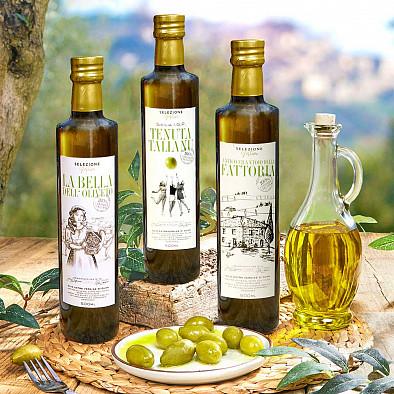 Terzetto Eccellenza - Premium Olivenöl 3x