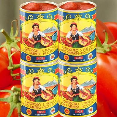 4 x Pomodoro San Marzano dell'Agro Sarnese Nocerino D.O.P.