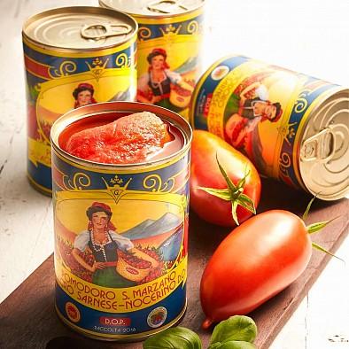San Marzano Tomaten - 4er Set