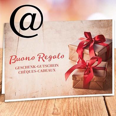 40 CHF Geschenkgutschein - via E-Mail