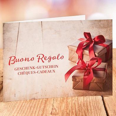 25 CHF Geschenkgutschein - Postversand