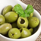 Olive verdi denocciolate