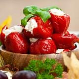 Peperoncini di Calabria ripieni con Pecorino Calabrese