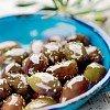 Taggiasca Oliven ohne Stein in Öl eingelegt Olive Snocciolate Frantoio Venturino Ligurien entsteint