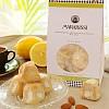Amaretti morbidi al limone weiche toskanische Mandelkekse mit Zitrone