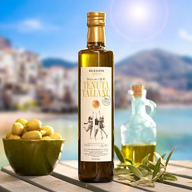 Huile d'olive de Sicile - Tenuta Talianu